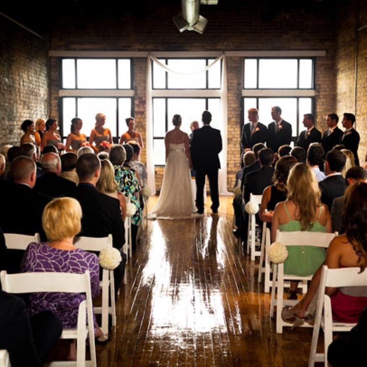 Burroughes Wedding Ceremony
