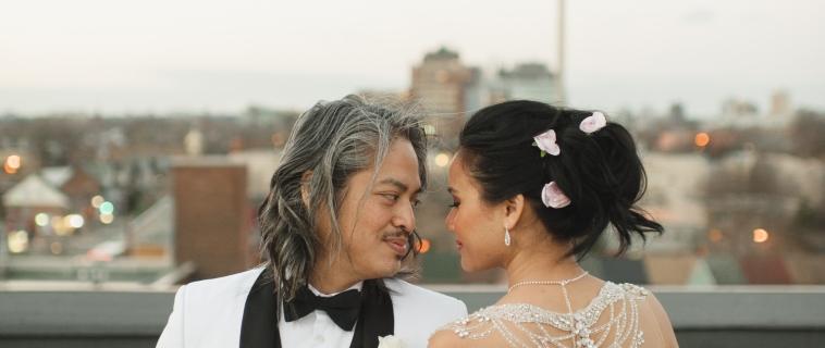 JJ & Nancy's Wedding – A Winter Wedding at The Burroughes